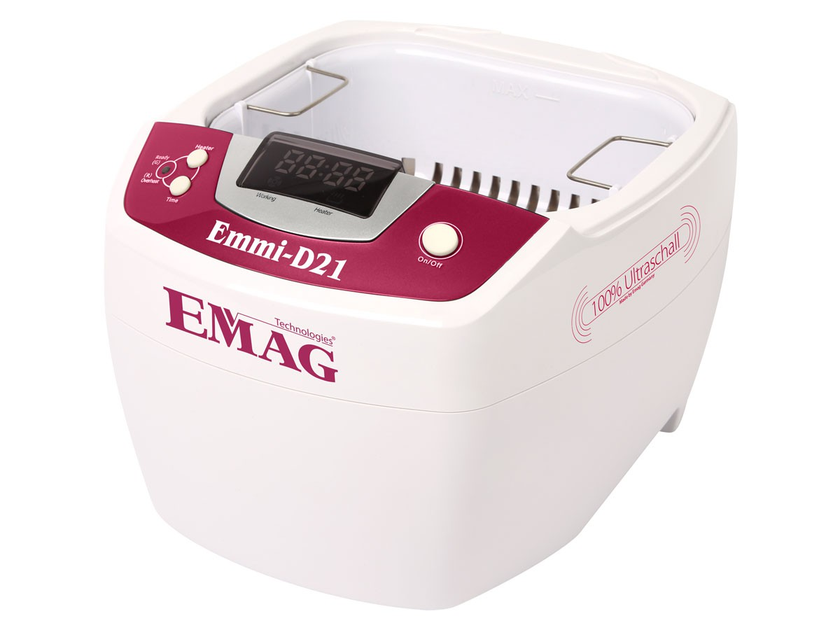 Emmi-D21 Nettoyeur à ultrasons avec cuve inox