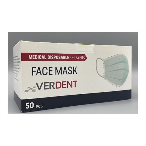 Masques chirurgicaux - Verdent - EN 14683 Type IIR
