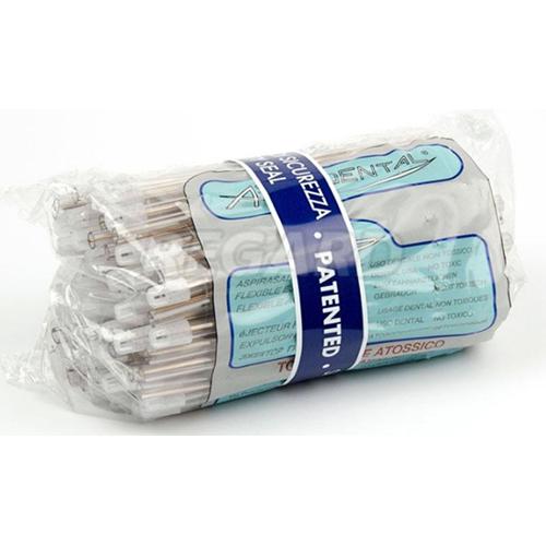 Éjecteurs de salive (100 pièces), transparents